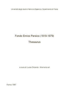 Enrico Persico