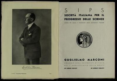 Commemorazione di Guglielmo Marconi